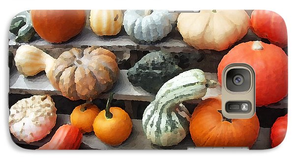 Galaxy Case featuring the photograph Pumpkins And Gourds by Brooke T Ryan