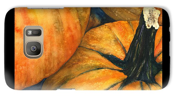 Galaxy Case featuring the painting Punkin by Casey Rasmussen White