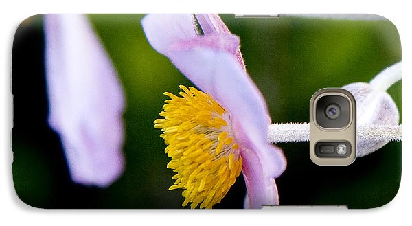 Galaxy Case featuring the photograph Purple Anemone I by Michael Friedman