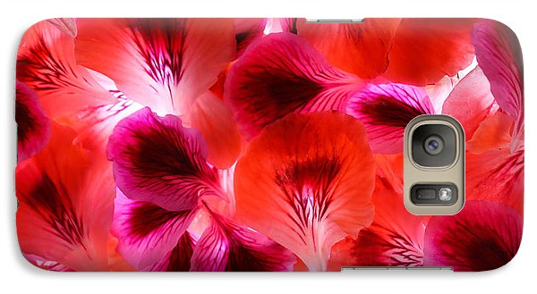 Galaxy Case featuring the photograph Purple Meditation by Bobby Villapando