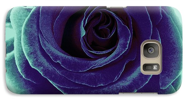 Galaxy Case featuring the photograph Purple Rose by Jasna Gopic