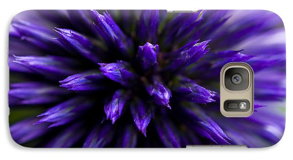 Galaxy Case featuring the photograph Purple Zoom by Trevor Chriss