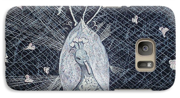 Galaxy Case featuring the mixed media Puttin' On The Ritz by Joy Braverman