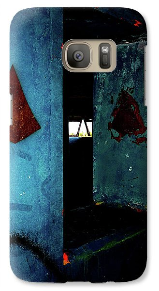 Galaxy Case featuring the photograph Pyramid Power by Newel Hunter