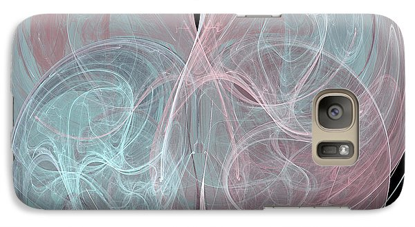 Galaxy Case featuring the digital art Quadrant by Kim Sy Ok