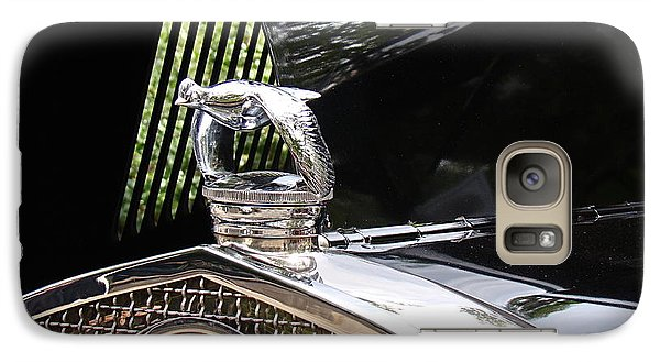 Galaxy Case featuring the photograph Quail Radiator Cap- Ford by Nick Kloepping