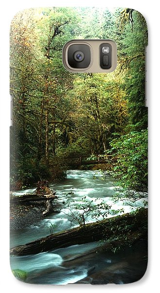 Galaxy Case featuring the photograph Quineault Rain Forest by Rick Frost