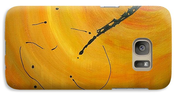 Galaxy Case featuring the painting Rabbit Hole by Mary Kay Holladay