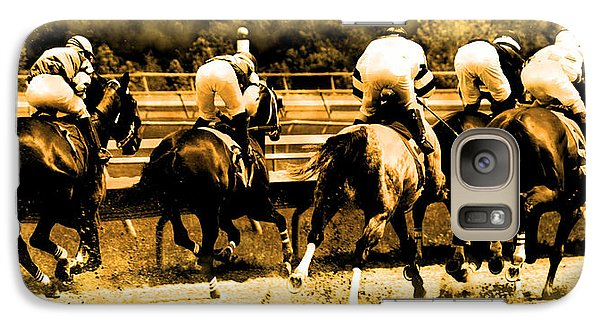 Galaxy Case featuring the photograph Race To The Finish Line by Alice Gipson