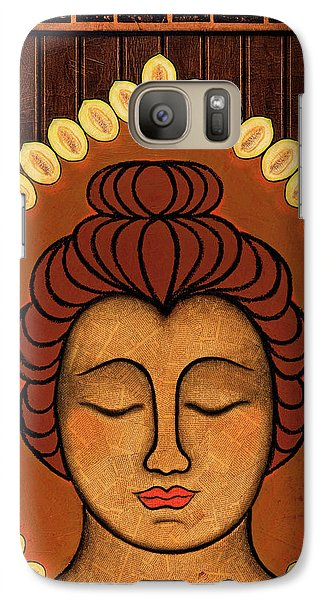 Galaxy Case featuring the painting Radiant Peace by Gloria Rothrock