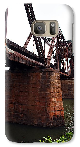 Galaxy Case featuring the photograph Railroad Bridge 1 by Kay Lovingood