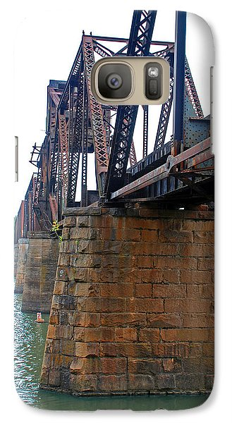 Galaxy Case featuring the photograph Railroad Bridge 2 by Kay Lovingood