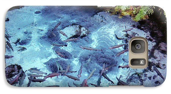 Galaxy Case featuring the photograph Rainbow Springs by Mark Dodd