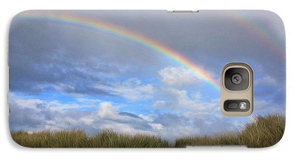 Galaxy Case featuring the photograph Rainbows Over The Sand by Tyra  OBryant