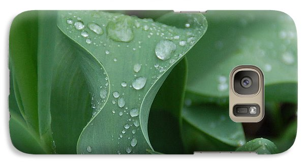 Galaxy Case featuring the photograph Raindrops by Aimee L Maher Photography and Art Visit ALMGallerydotcom