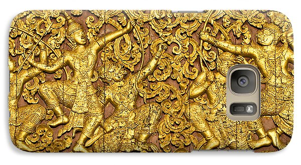 Galaxy Case featuring the photograph Ramayana by Luciano Mortula
