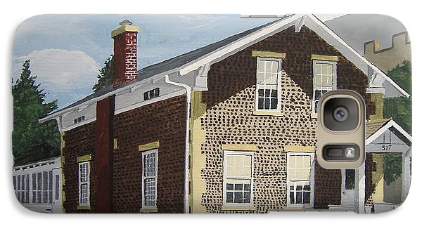 Galaxy Case featuring the painting Rasey House by Norm Starks