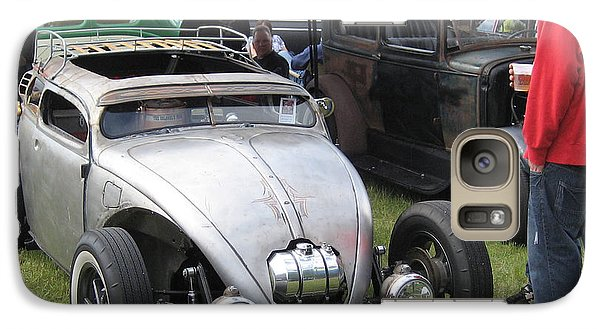 Galaxy Case featuring the photograph Rat Rod Many Parts by Kym Backland