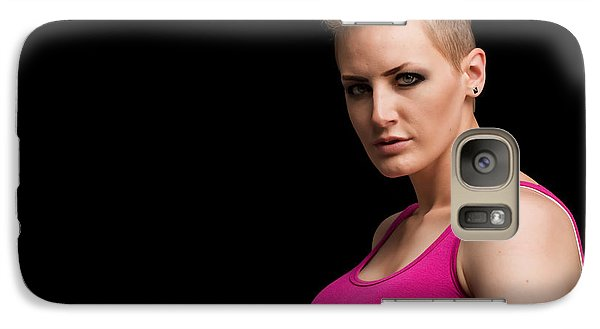 Galaxy Case featuring the photograph Raw Profile by Jim Boardman