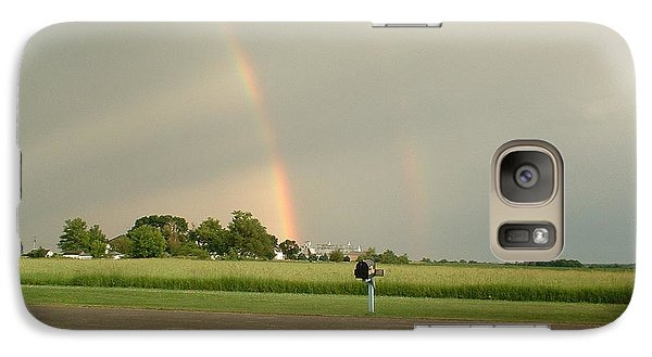 Galaxy Case featuring the photograph Ray Bow by Bonfire Photography