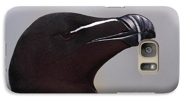 Razorbill Portrait Galaxy Case by Bruce J Robinson
