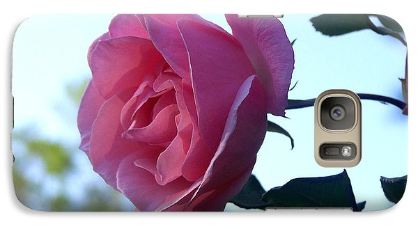 Galaxy Case featuring the photograph Reaching For Sunlight by Kathy  White