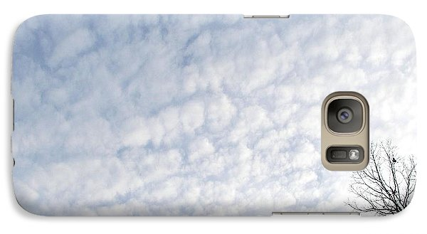 Galaxy Case featuring the photograph Reaching The Clouds by Pamela Hyde Wilson