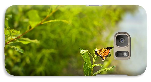 Galaxy Case featuring the photograph Ready Set Go Viceroy Butterfly by Marianne Campolongo