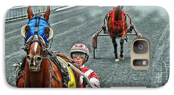Galaxy Case featuring the photograph Ready To Race by Alice Gipson