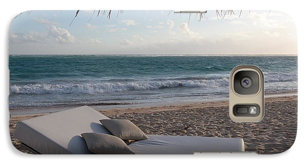 Galaxy Case featuring the photograph Ready To Relax On A Tropical Beach by Karen Lee Ensley