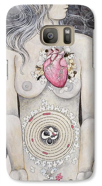 Galaxy Case featuring the painting Rebirth Of Venus by Sheri Howe