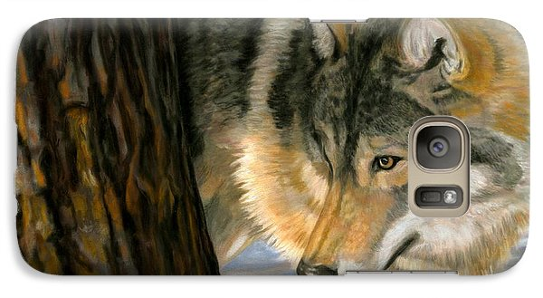 Galaxy Case featuring the painting Reclaiming The Wild by Sheri Gordon