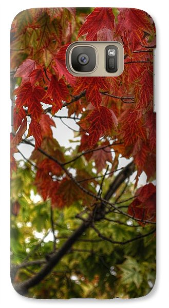 Galaxy Case featuring the photograph Red And Green Prior X-mas by Michael Frank Jr