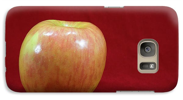Galaxy Case featuring the photograph Red Apple by Michael Waters