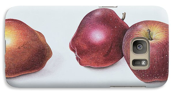 Red Apples Galaxy Case by Margaret Ann Eden