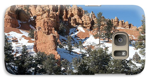 Galaxy Case featuring the photograph Red Canyon by Bob and Nancy Kendrick