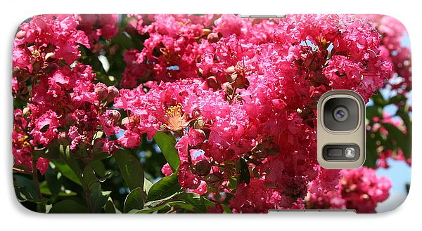 Galaxy Case featuring the photograph Red Lilac Bush by Michael Waters
