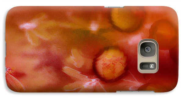 Galaxy Case featuring the photograph Red Pearl Dragon Fly by Vicki Ferrari