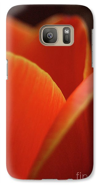 Galaxy Case featuring the photograph Red Tulip by Jeannette Hunt