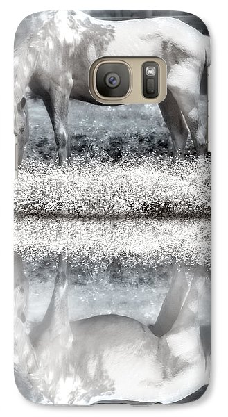 Galaxy Case featuring the digital art Reflecting Dreams by Mary Almond