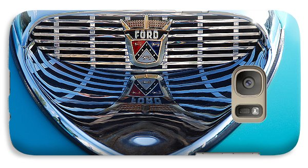 Galaxy Case featuring the photograph Reflecting Ford by John Schneider