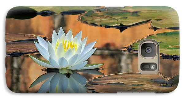 Galaxy Case featuring the photograph Reflecting Pond by Deborah Smith