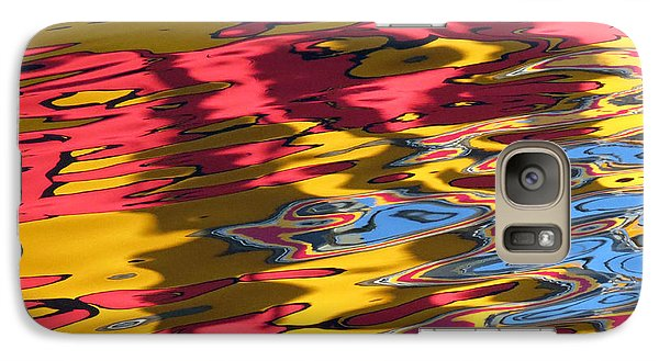 Galaxy Case featuring the photograph Reflection Abstraction by Darleen Stry