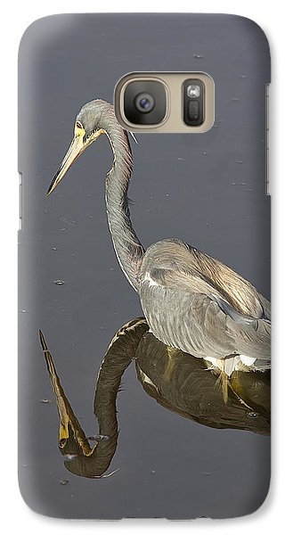 Galaxy Case featuring the photograph Reflection by Anne Rodkin
