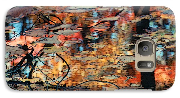 Galaxy Case featuring the photograph Reflection by Barbara Middleton