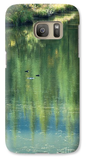 Galaxy Case featuring the photograph Reflection by Bob and Nancy Kendrick