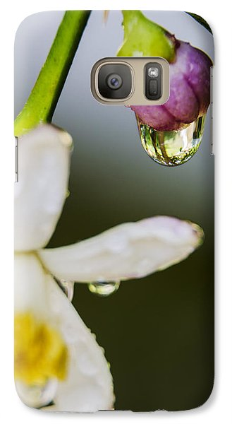 Galaxy Case featuring the photograph Reflection by Marta Cavazos-Hernandez