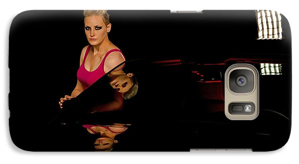 Galaxy Case featuring the photograph Reflections by Jim Boardman