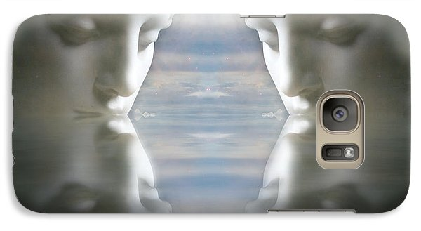 Galaxy Case featuring the digital art Reflections by Kathleen Holley