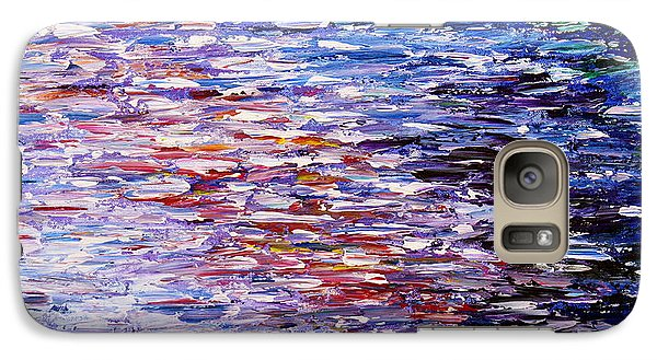 Galaxy Case featuring the painting Reflections by Kume Bryant